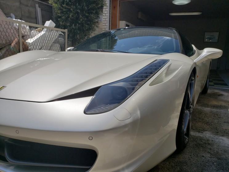 03875d9d3e6bd フェラーリ458 | 名古屋市の出張洗車・格安コーティング・ミガックスNB