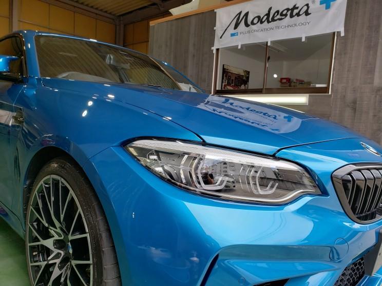 b8de287f63a8b BMW M2 来場 | 名古屋市の出張洗車・格安コーティング・ミガックスNB
